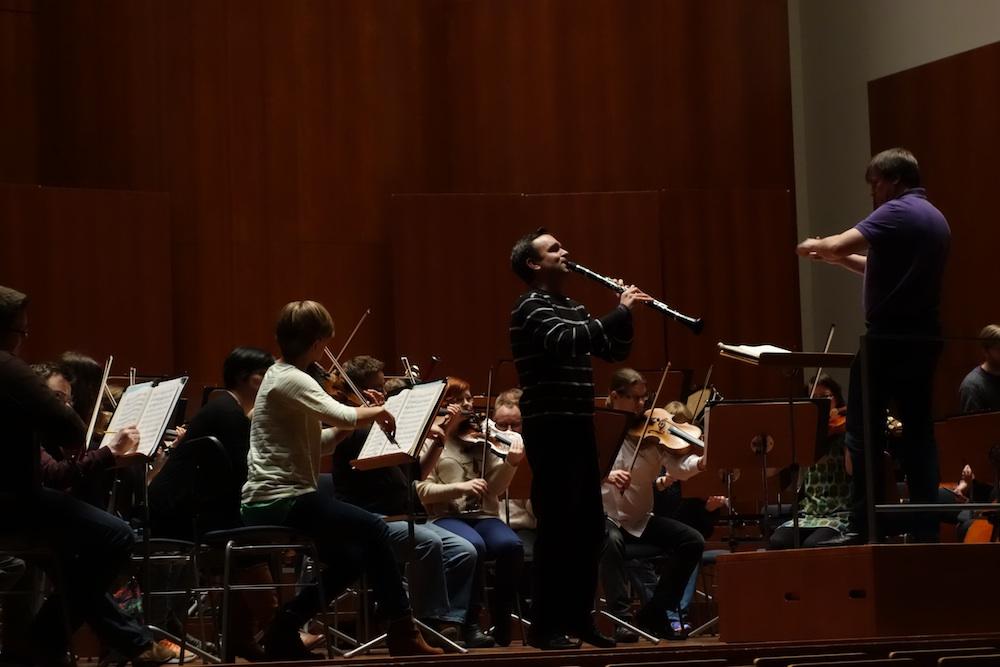 Freiburg - Clarinetist Jörg Widman