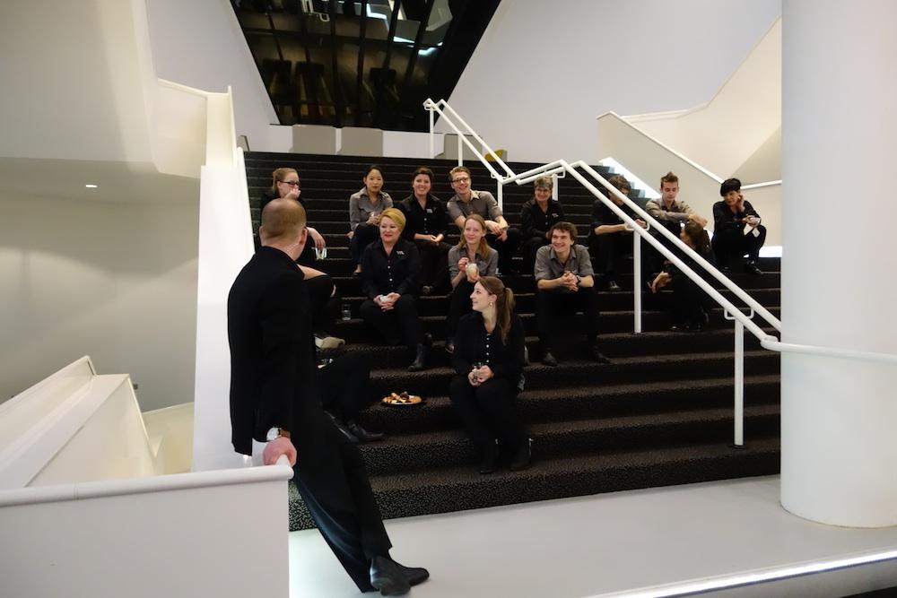 Eindhoven - Muziekgebouw personnel