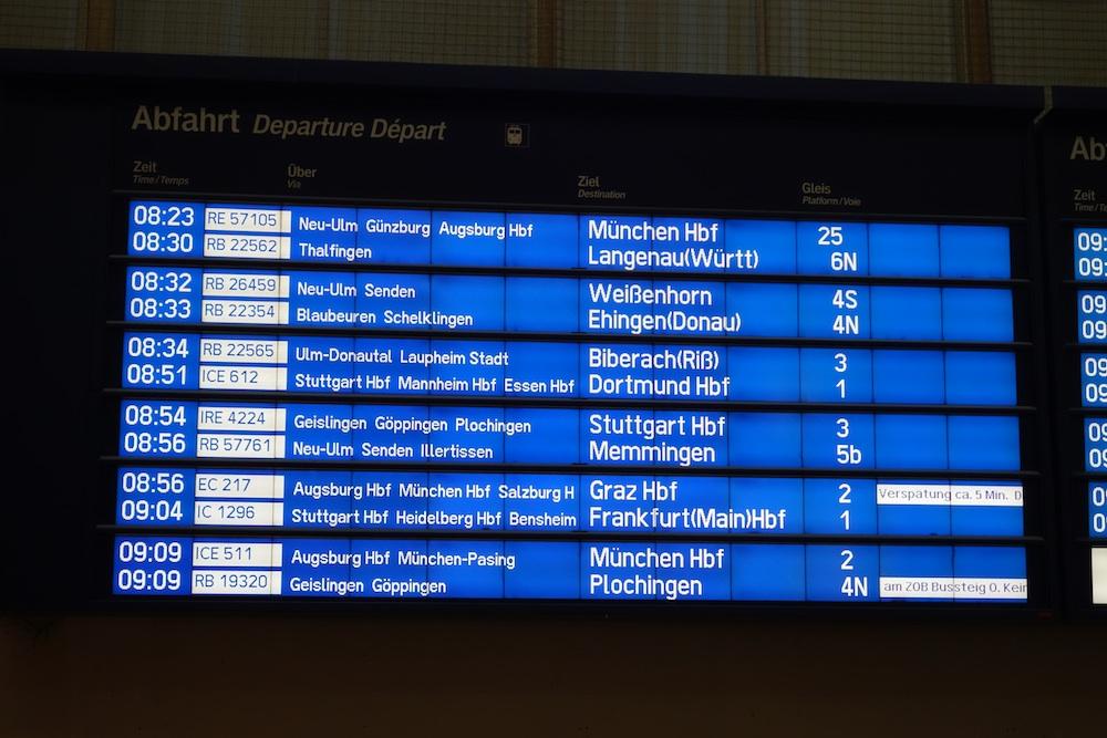 Ulm - Hauptbahnhof