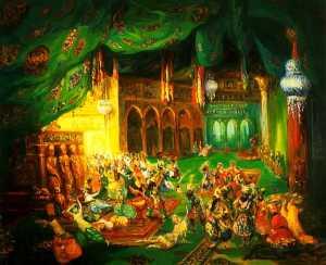 Scheherazade_(Rimsky-Korsakov)_01_by_L._Bakst